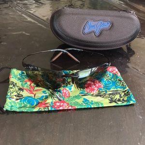 Maui Jim brown sunglasses